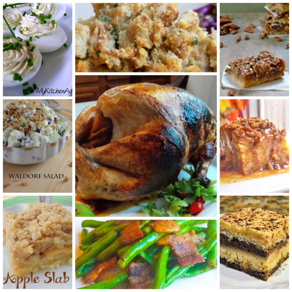 Traditional Thanksgiving Dinner Menu  Traditional Thanksgiving Menu and Recipes Flavor Mosaic