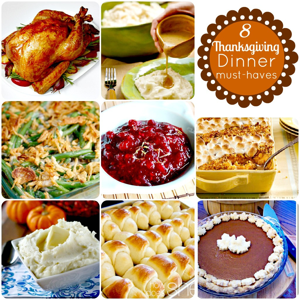 Traditional Thanksgiving Dinner Menu  hip2thrift 8 Thanksgiving Dinner Must Haves