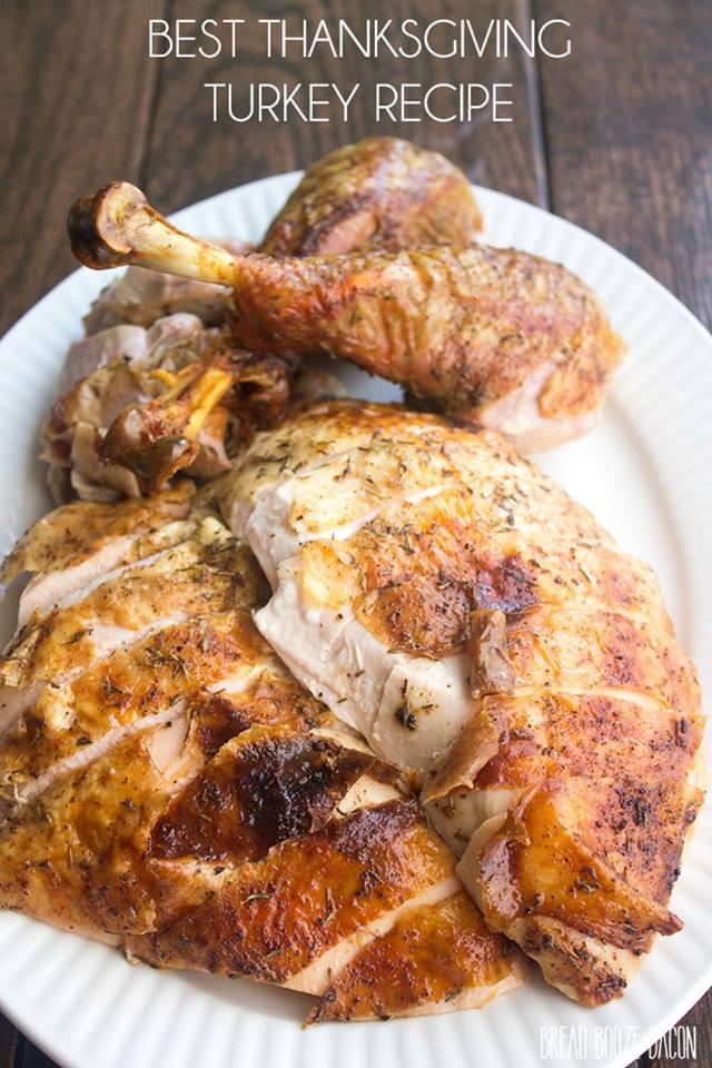 Traditional Thanksgiving Turkey Recipe  Best Thanksgiving Turkey Recipe How to Cook a Turkey