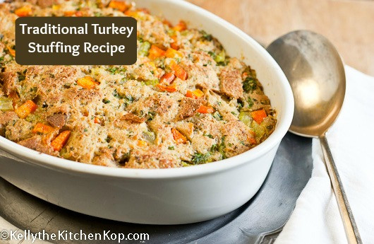 Traditional Thanksgiving Turkey Recipe  Traditional Turkey Stuffing Recipe