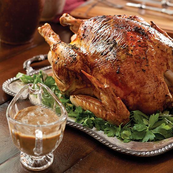 Traditional Thanksgiving Turkey Recipe  Easy Roast Turkey with Pan Gravy Recipe