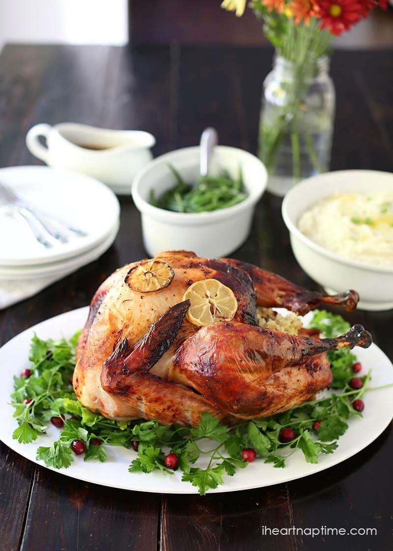 Traditional Thanksgiving Turkey Recipe  Easy Turkey Brine Recipe I Heart Nap Time
