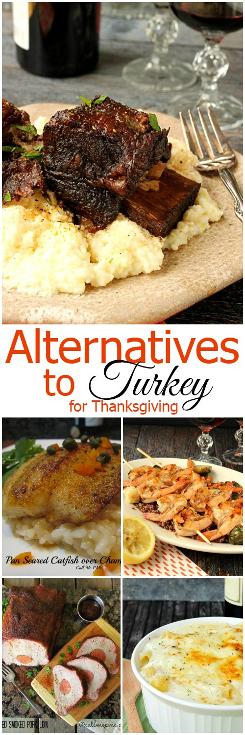 Turkey Alternative Thanksgiving  Alternatives to Turkey for Thanksgiving Call Me PMc