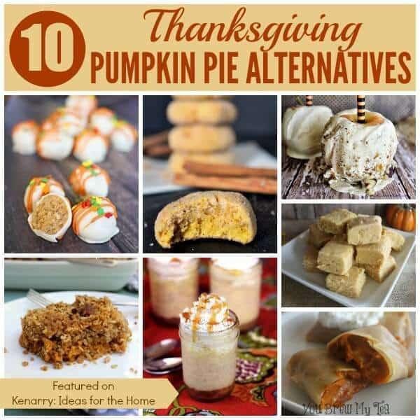 Turkey Alternative Thanksgiving  Pumpkin Pie Alternatives 10 Ideas for Thanksgiving