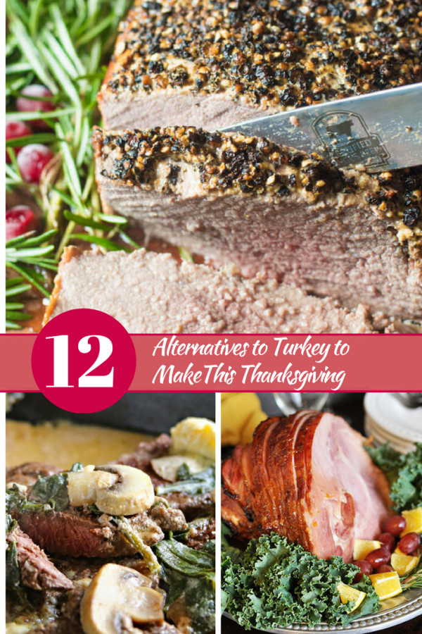 Turkey Alternatives Thanksgiving  12 Alternatives to Turkey to make this Thanksgiving