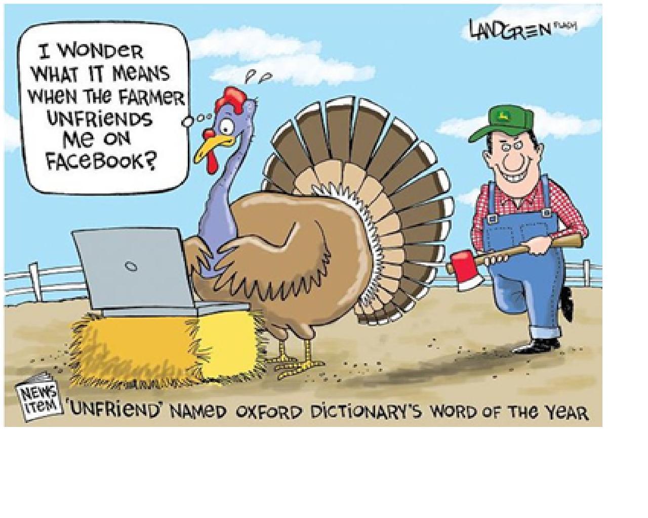 Turkey Cartoons Thanksgiving  Denae D Arcy November 2012