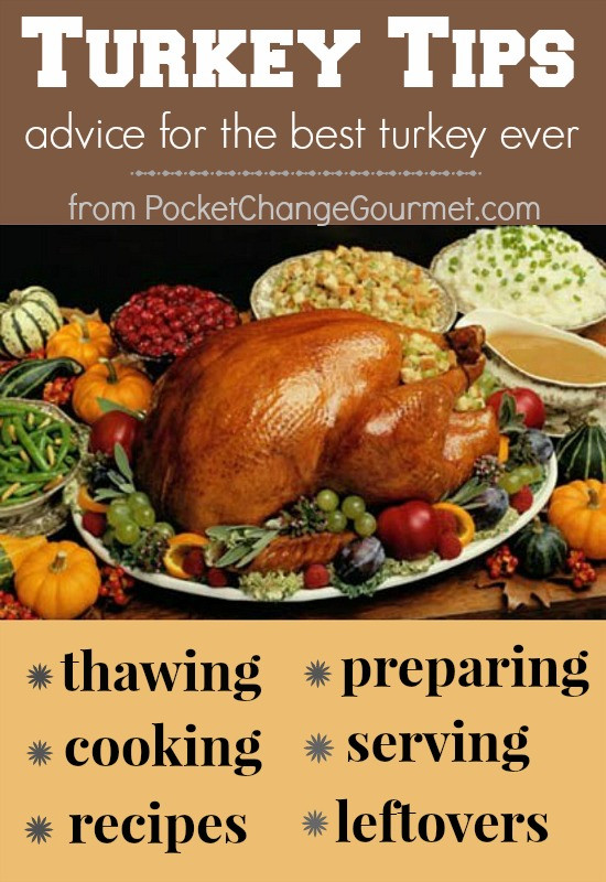 Turkey Cooking Recipes For Thanksgiving  Preparing for Thanksgiving Turkey Tips Recipe