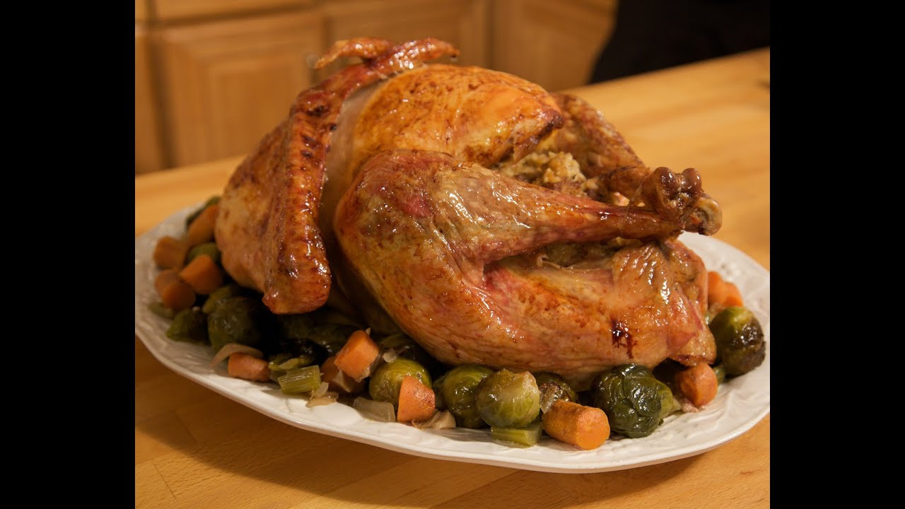 Turkey Cooking Recipes For Thanksgiving  Italian Thanksgiving Turkey Recipe Rossella s Cooking