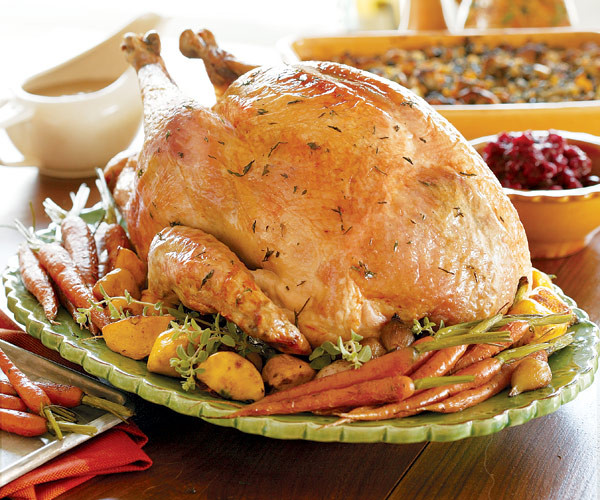 Turkey Cooking Recipes For Thanksgiving  Juicy Roast Turkey Recipe FineCooking