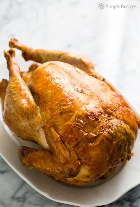Turkey Cooking Recipes For Thanksgiving  Mom's Roast Turkey Recipe