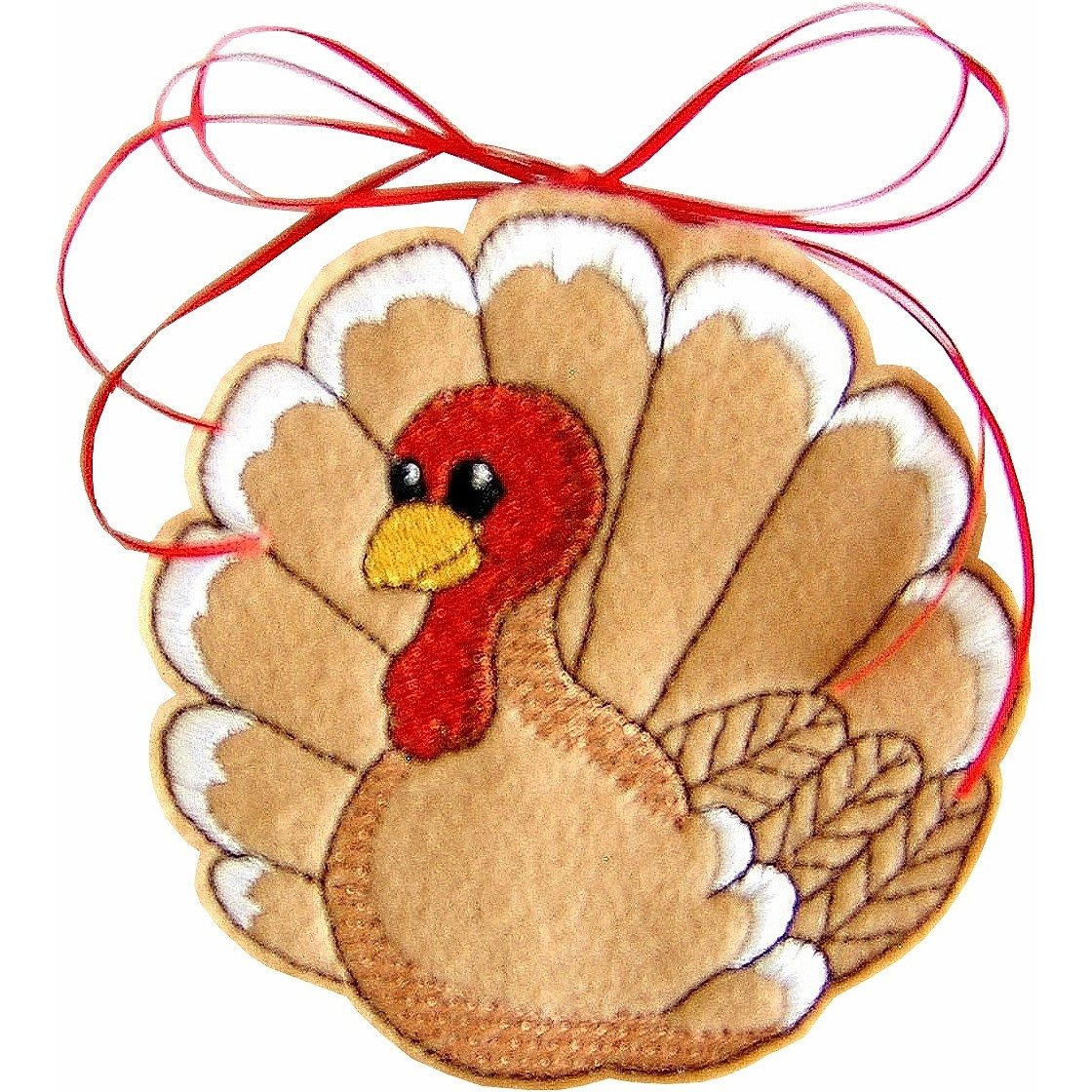 Turkey Designs For Thanksgiving  Holiday Machine Embroidery Designs