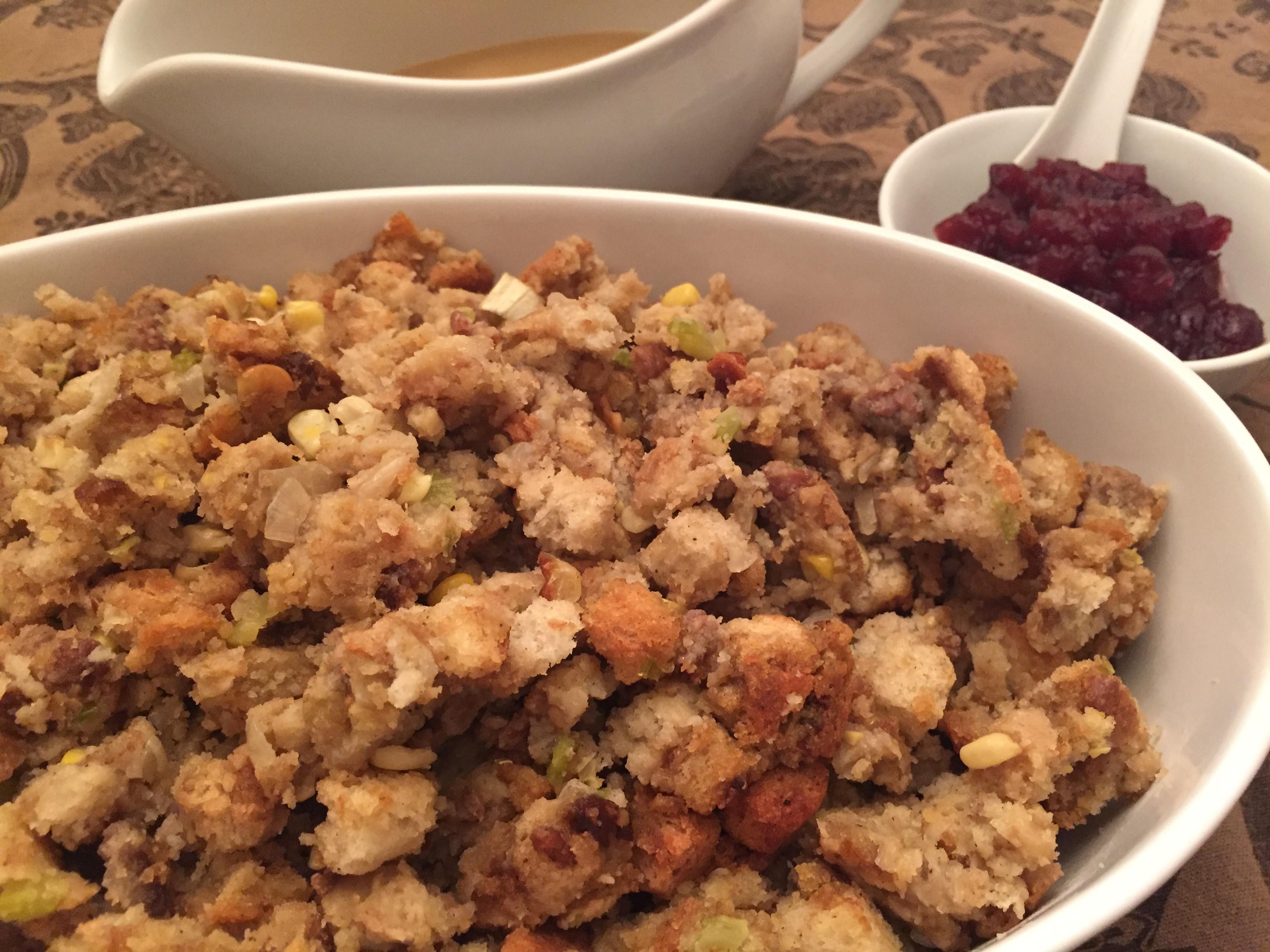 Turkey Sausage Stuffing Recipes Thanksgiving  Thanksgiving Stuffing with Sausage Recipe Mealtime