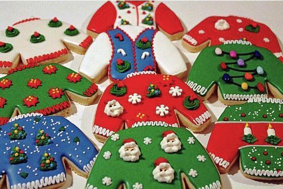 Ugly Christmas Sweater Cookies  Ugly Christmas Sweater Cookie Cutter Cheap Cookie Cutters