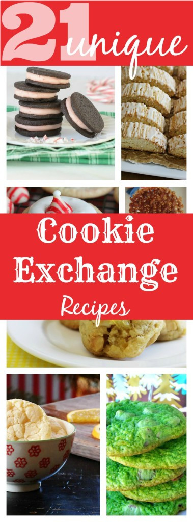 Unique Christmas Cookies For Cookie Exchange  21 Unique Holiday Cookie Exchange Recipes