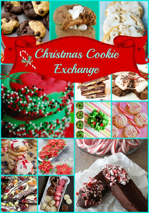 Unique Christmas Cookies For Cookie Exchange  Christmas Cookie Exchange The Girl Creative