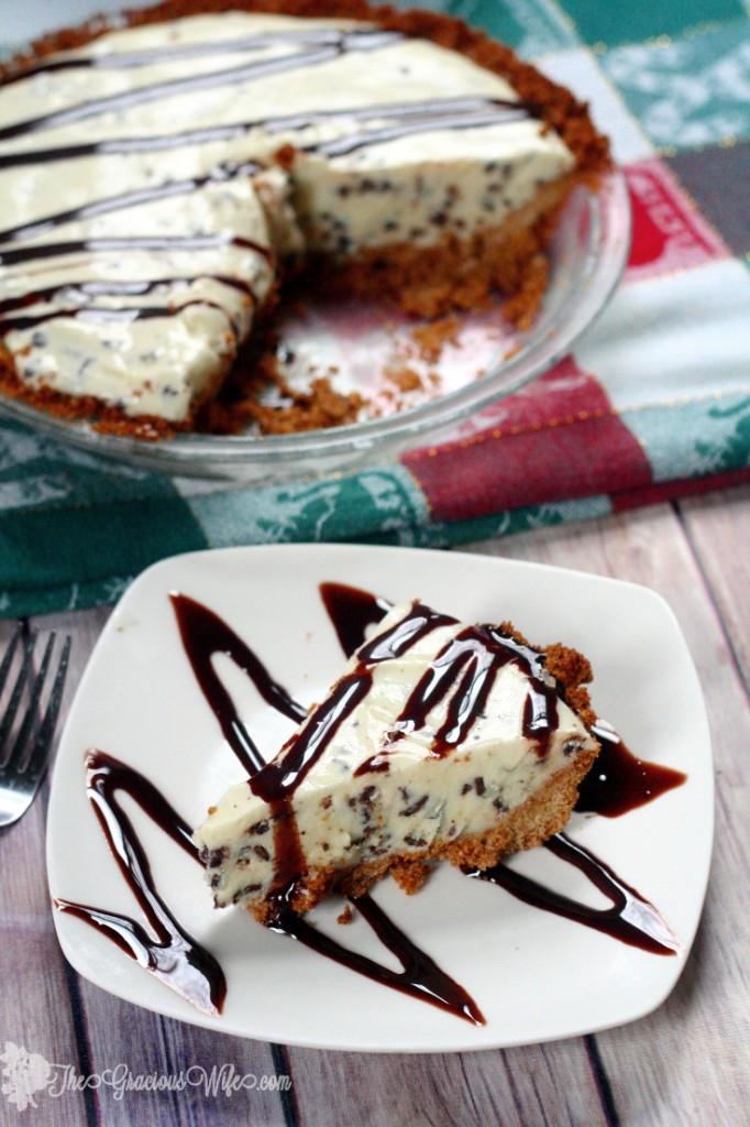 Unique Christmas Desserts  Eggnog Ice Cream Pie