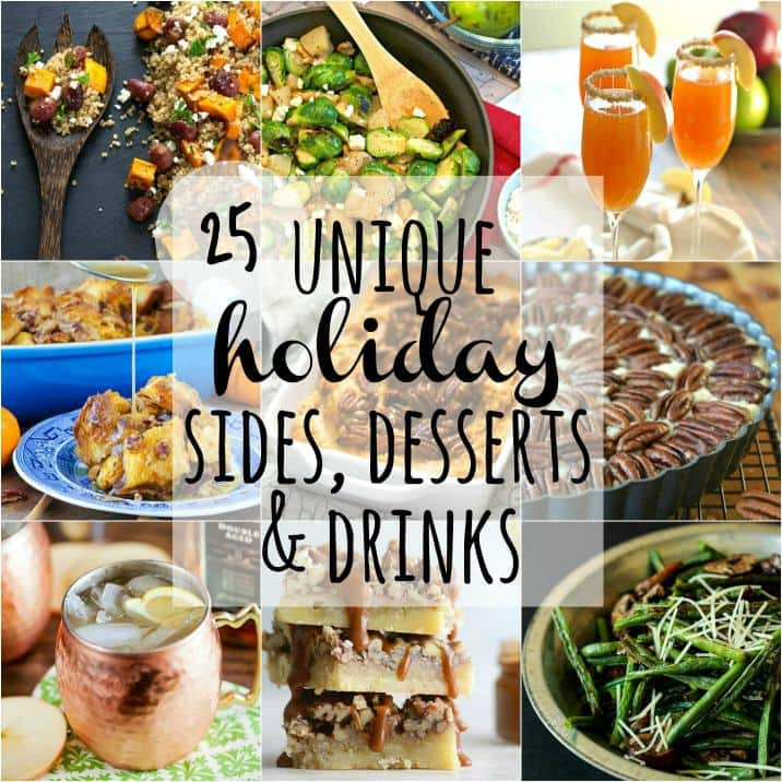 Unique Christmas Desserts  25 Unique Holiday Sides Desserts & Drinks DrinkWire