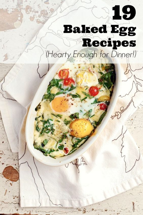 Unique Christmas Dinners  19 Unique Baked Egg Recipes Hearty Enough for Dinner