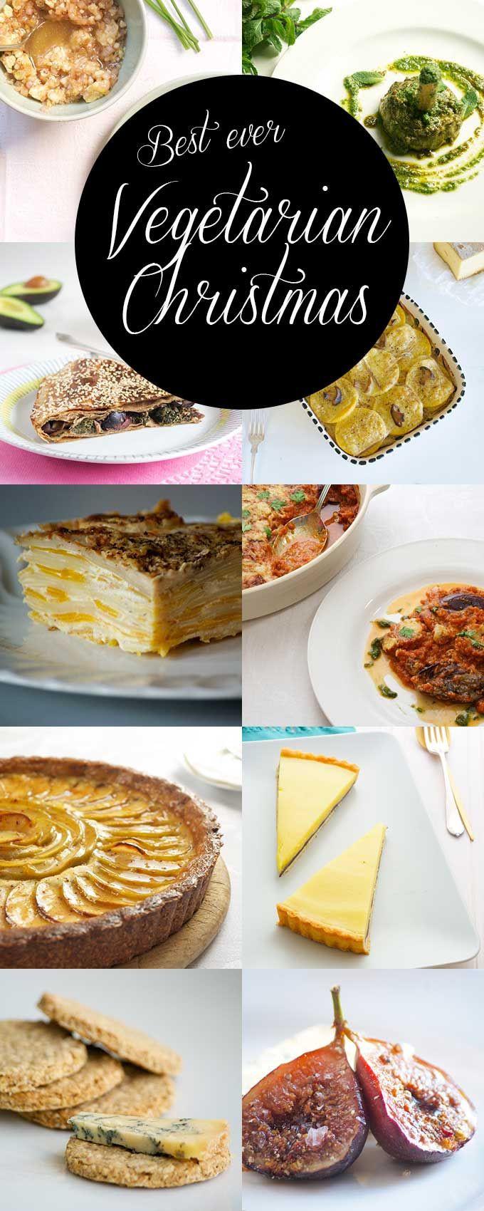 Vegan Christmas Appetizers  Best 25 Ve arian christmas recipes ideas on Pinterest
