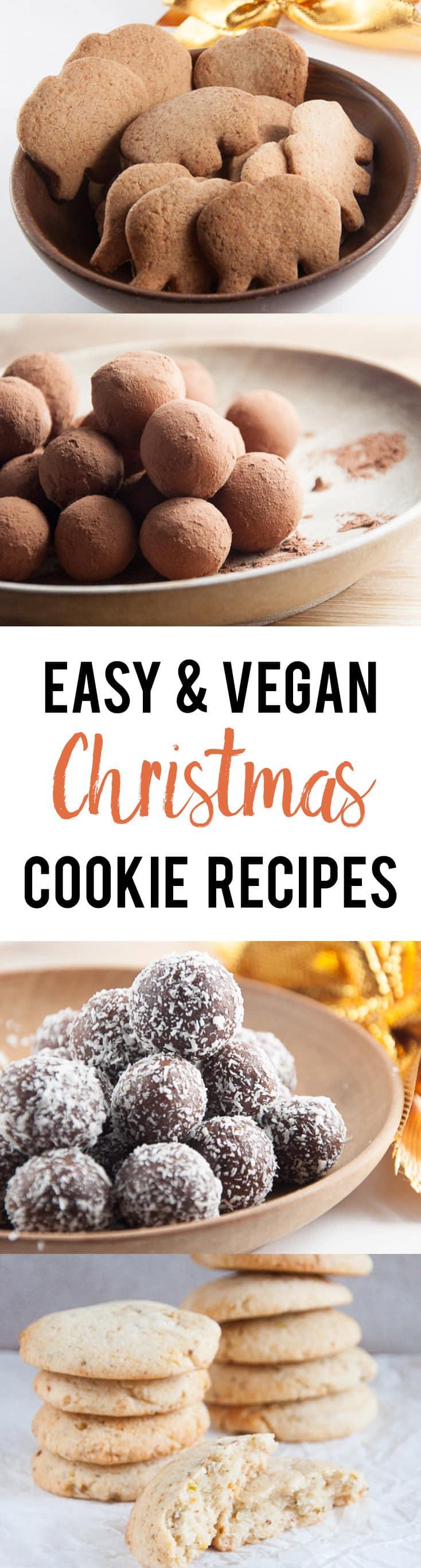 Vegan Christmas Cookie Recipes  10 Easy Vegan Christmas Cookie Recipes