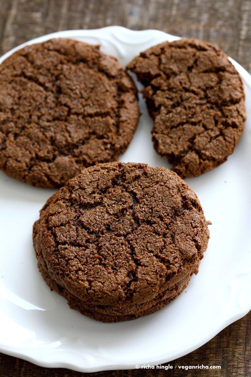 Vegan Christmas Cookie Recipes  1 Bowl Giant Molasses Cookies Vegan Richa