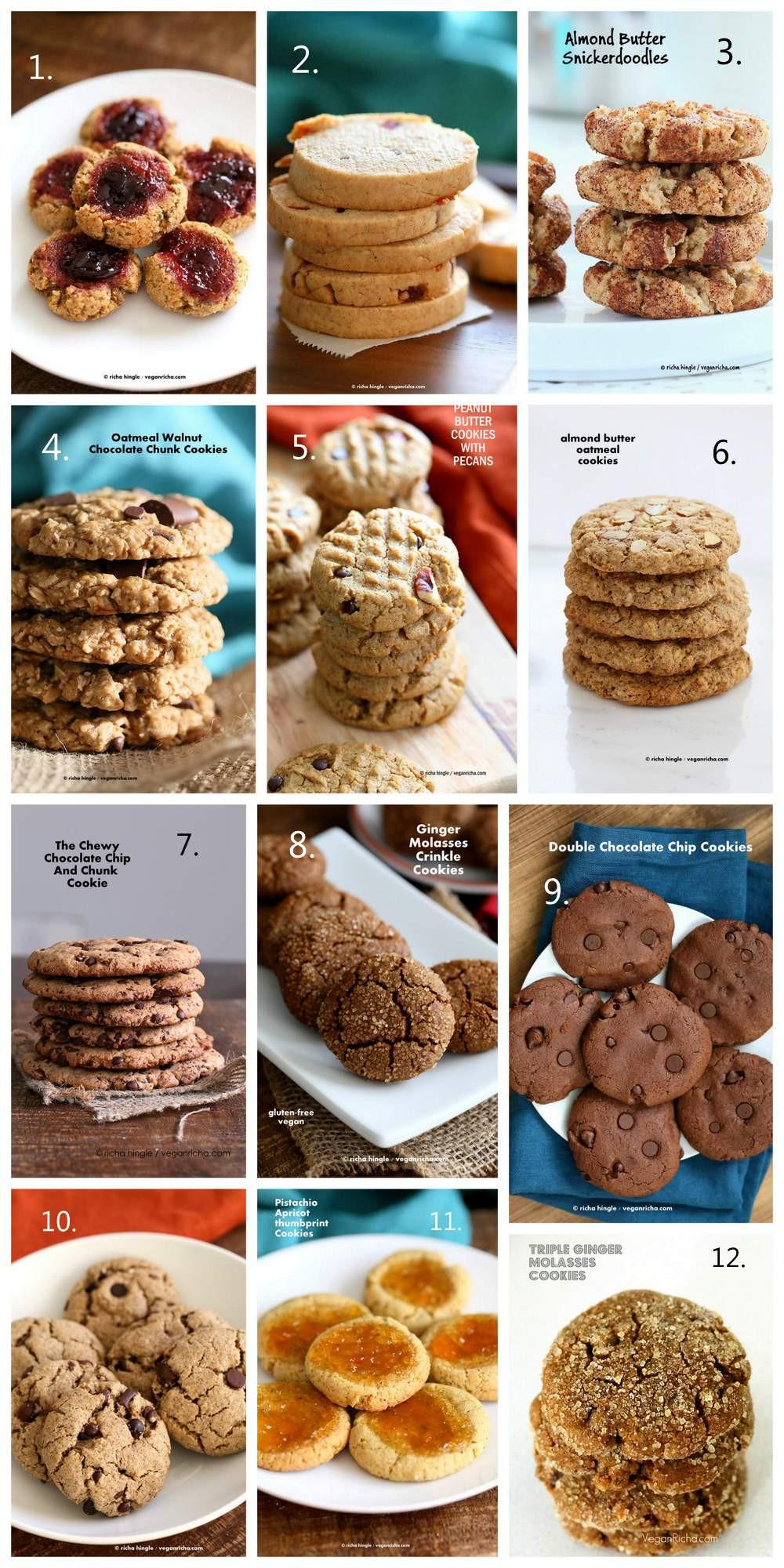 Vegan Christmas Cookie Recipes  40 Vegan Christmas Cookies Recipes Vegan Richa