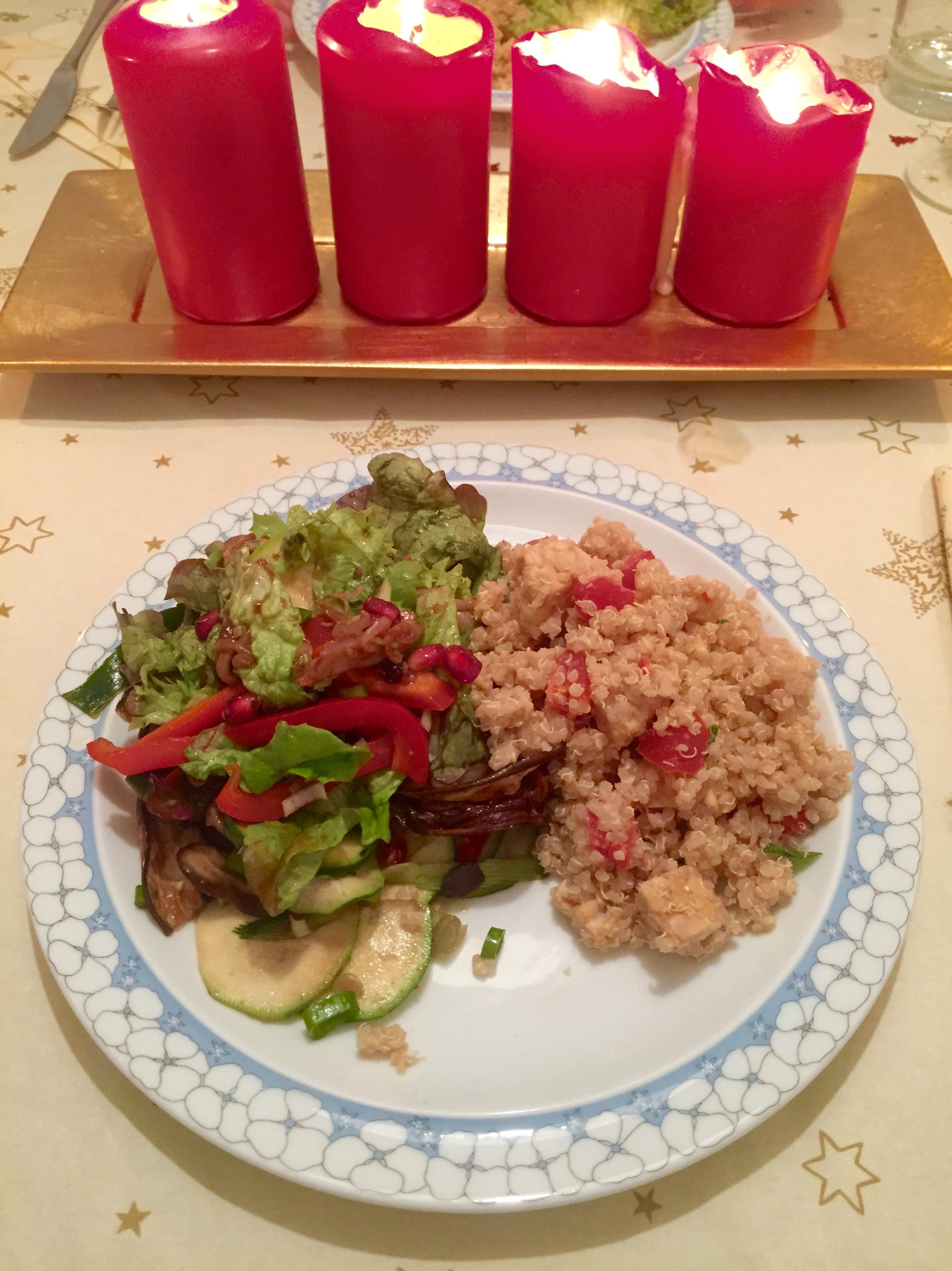 Vegan Christmas Dinner  healthy vegan christmas dinner