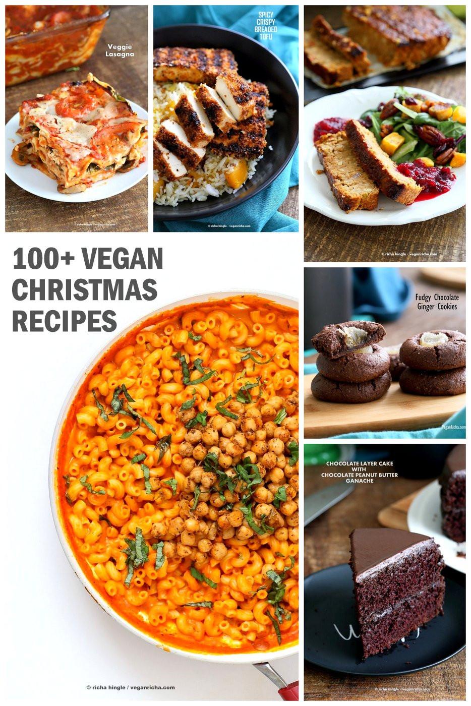Vegan Christmas Recipes  100 Vegan Christmas Recipes Glutenfree options Vegan Richa