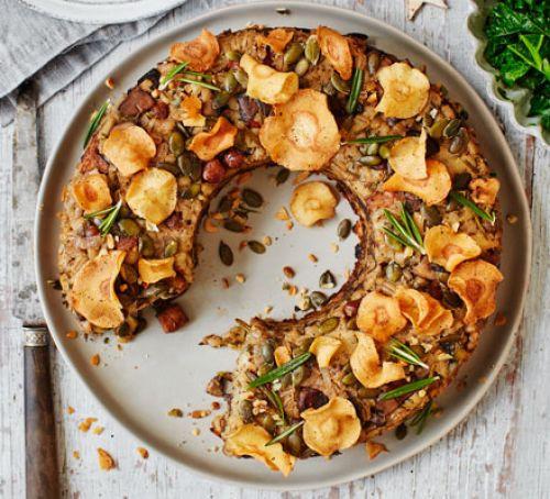 Vegan Christmas Recipes  Vegan nut roast recipe