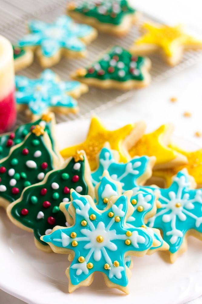 Vegan Christmas Sugar Cookies  The Best Vegan Sugar Cookies Nora Cooks