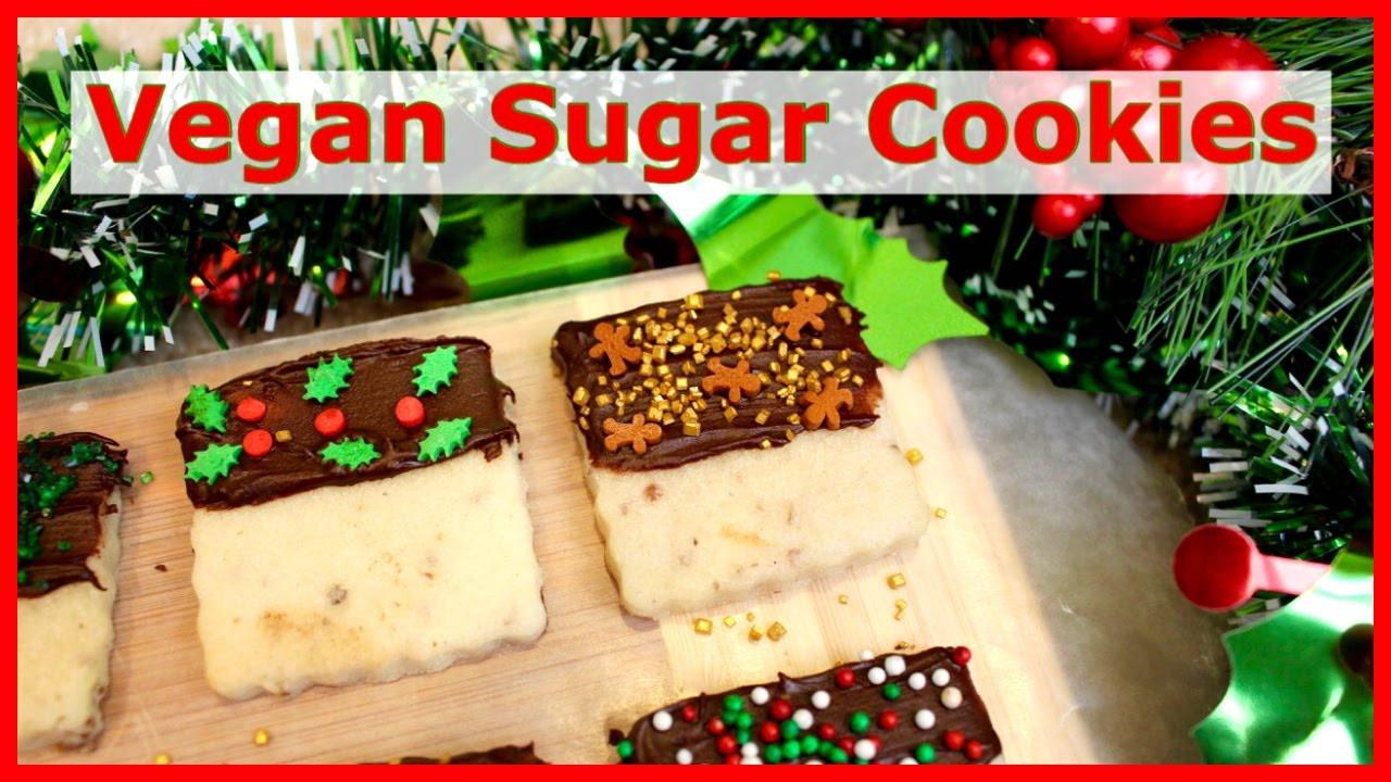 Vegan Christmas Sugar Cookies  VEGAN CHRISTMAS SUGAR COOKIES