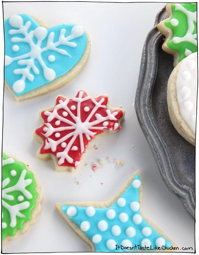 Vegan Christmas Sugar Cookies  Perfect Vegan Sugar Cookies • it doesn t taste like chicken
