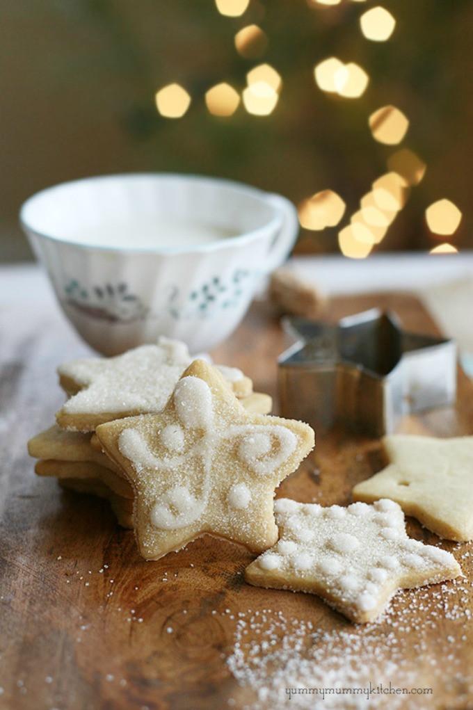 Vegan Christmas Sugar Cookies  7 Christmas Sugar Cookies