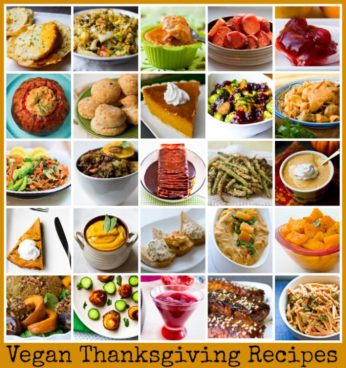 Vegan Dishes For Thanksgiving  Vegan Thanksgiving Recipes Mega Recipe Round up Vegan