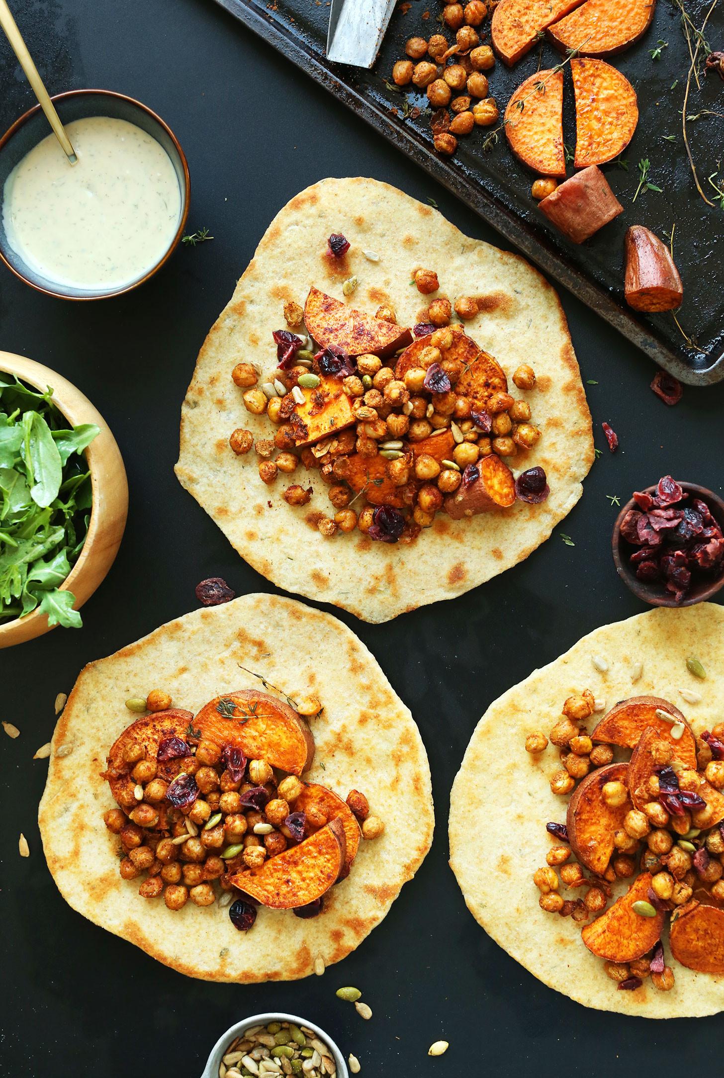 Vegan Dishes For Thanksgiving  Vegan Thanksgiving Wraps