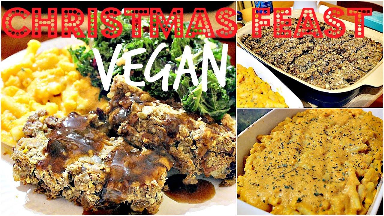 Vegan Recipes For Christmas Dinner  VEGAN CHRISTMAS DINNER
