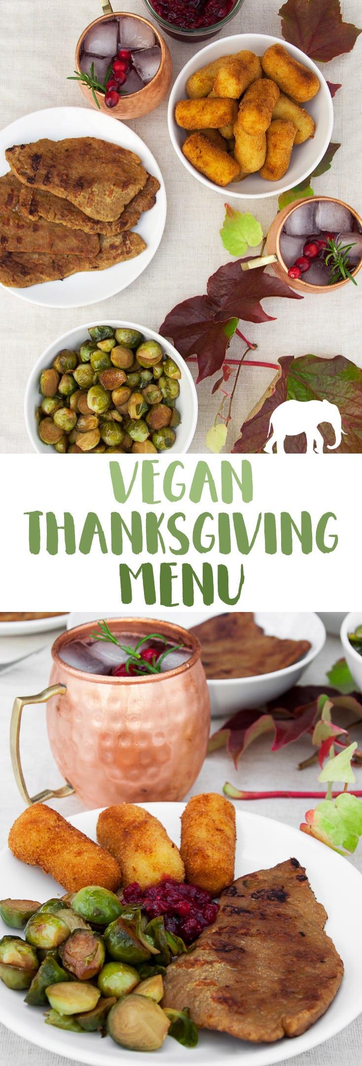 Vegan Thanksgiving 2019  Vegan Thanksgiving Menu Recipes