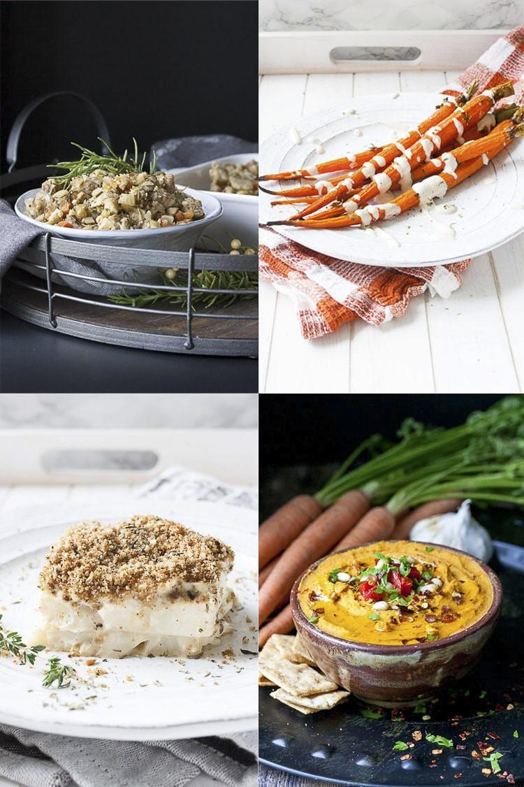 Vegan Thanksgiving 2019  Easy Vegan Thanksgiving Dinner with Shopping List Veggies
