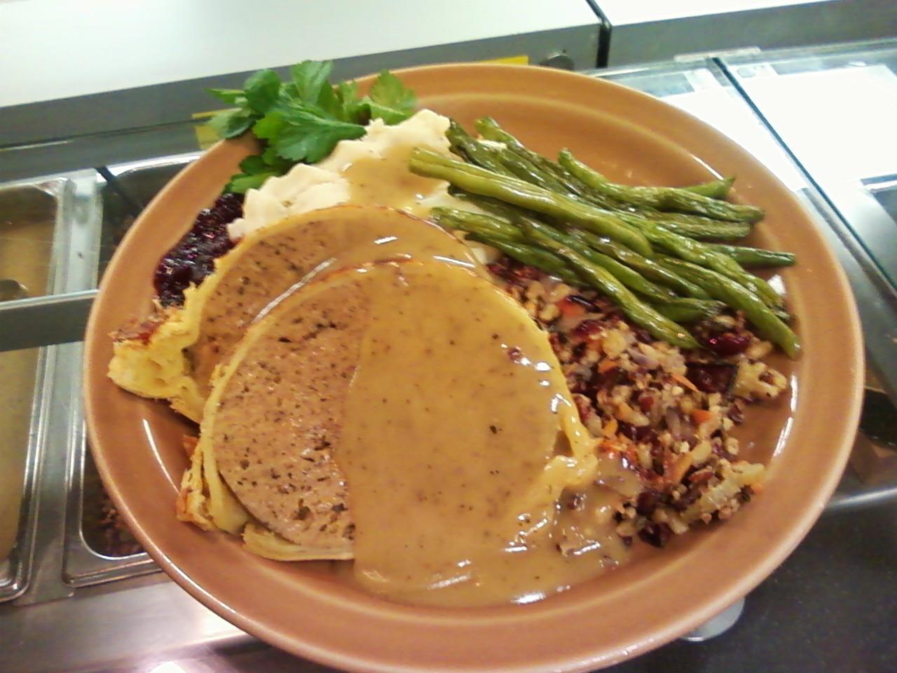 Vegan Thanksgiving Dinner  Professional Vegan Cooking and More Vegan Turkey Dinner