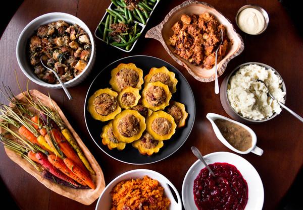 Vegan Thanksgiving Dinner  A Ve arian Thanksgiving Menu