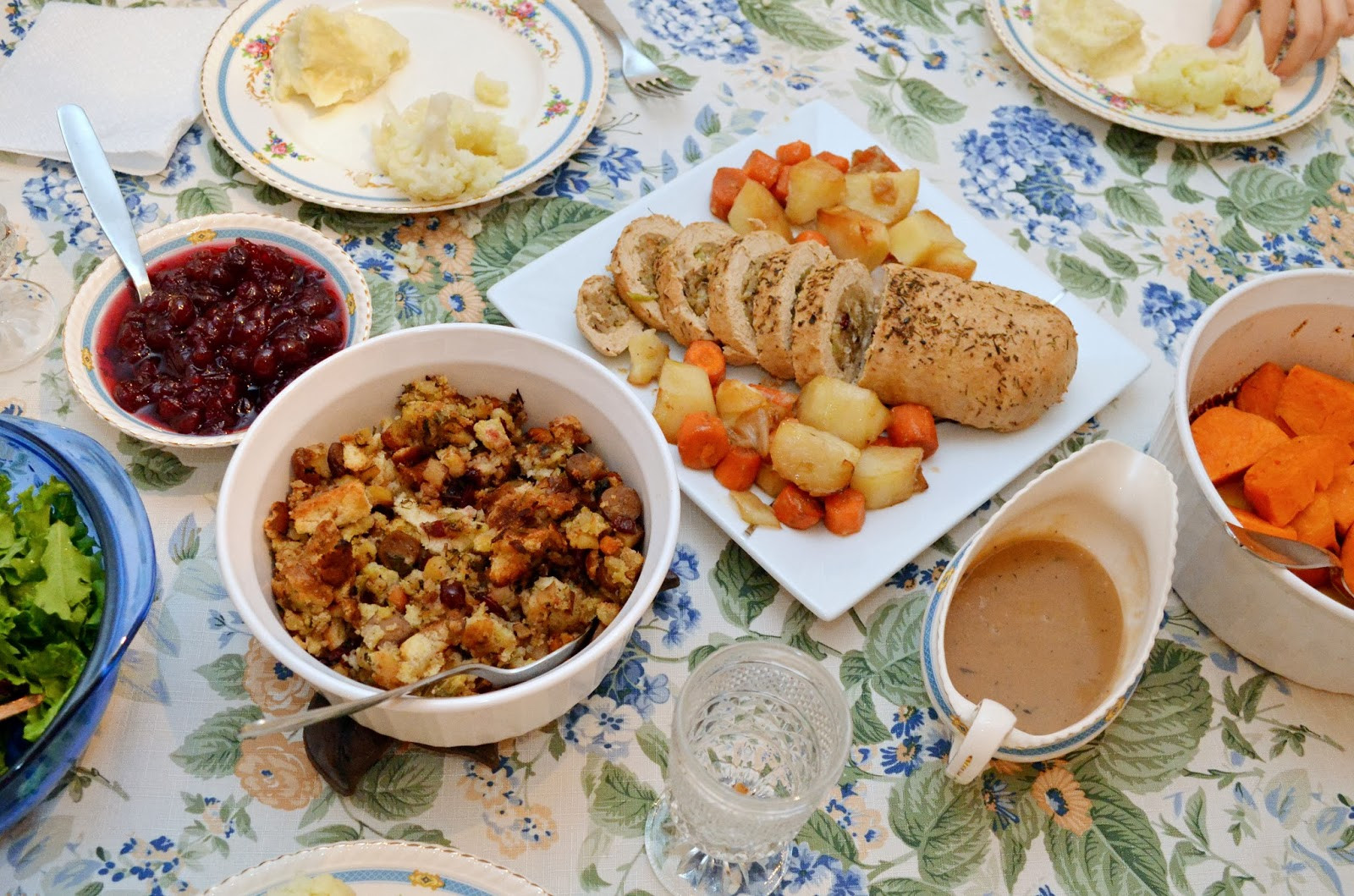 Vegan Thanksgiving Dinner  Woman in Real Life The Art of the Everyday What I Ate