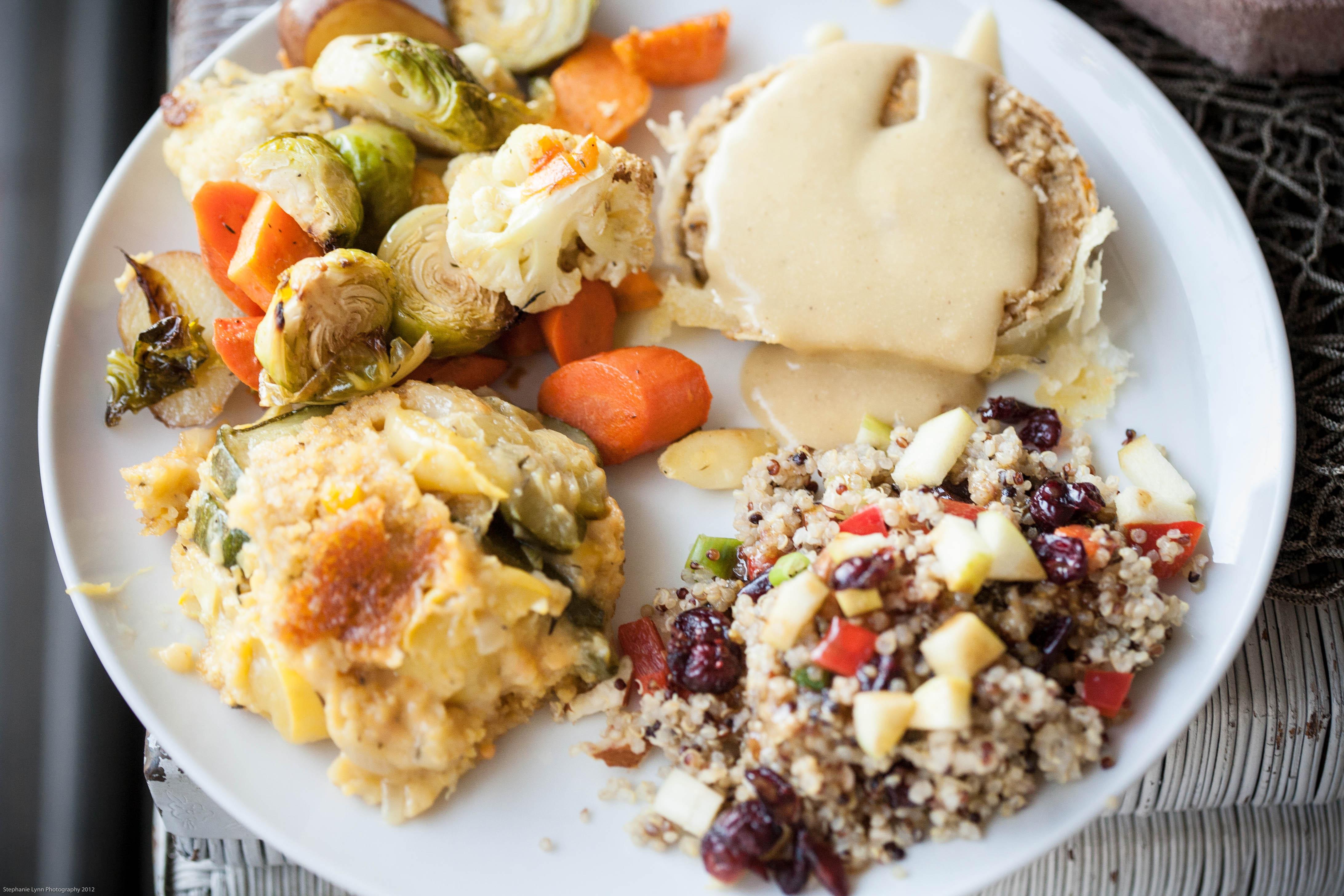 Vegan Thanksgiving Dinner  vegan thanksgiving
