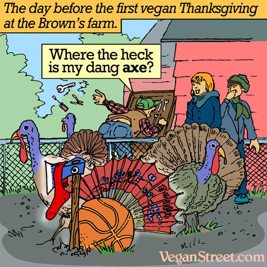 Vegan Thanksgiving Meme  Our Traditions Allow Require Eating Meat resources