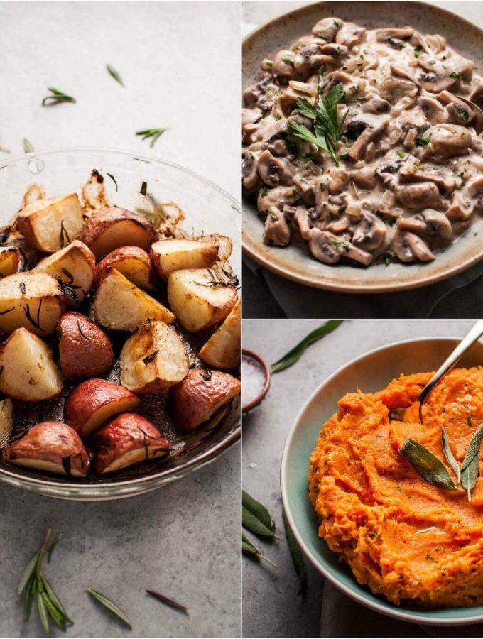 Vegan Thanksgiving Sides  Appetizers & Sides Archives • Salt & Lavender