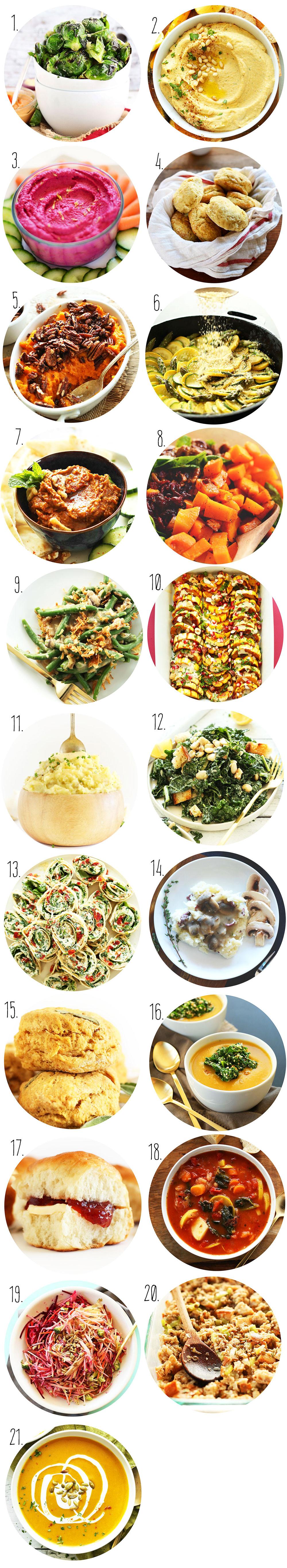 Vegan Thanksgiving Sides  Vegan Thanksgiving Recipes