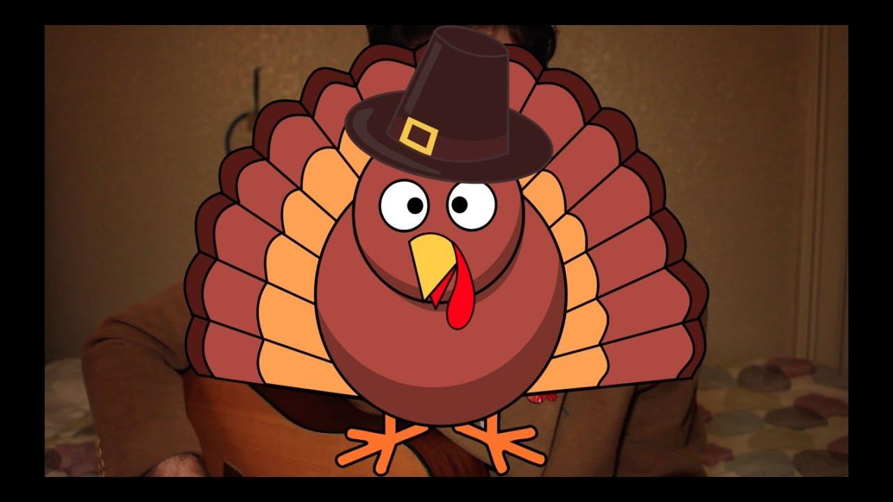 Vegan Thanksgiving Song  THANKSGIVING SONGS POOR TURKEY SONG VEGAN FOR KIDS OR