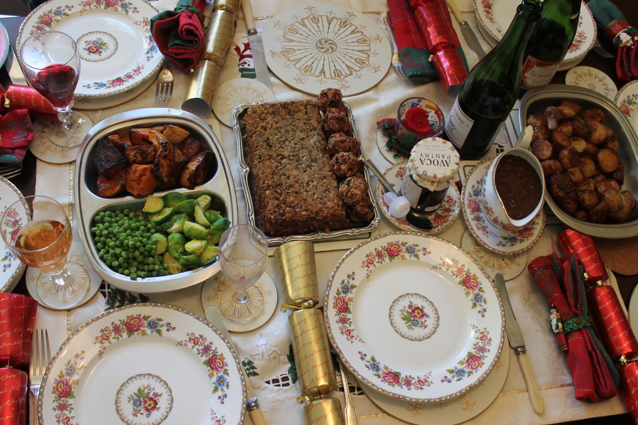Vegetarian Christmas Dinner  Green Gourmet Giraffe A ve arian Christmas dinner in