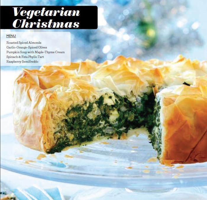 Vegetarian Christmas Dinner  A ve arian Christmas dinner menu Chatelaine