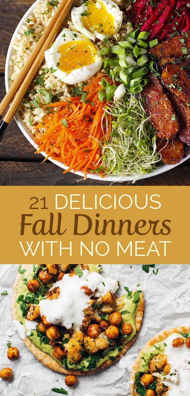 Vegetarian Fall Dinner Recipes  17 Best images about Healthy eating on Pinterest