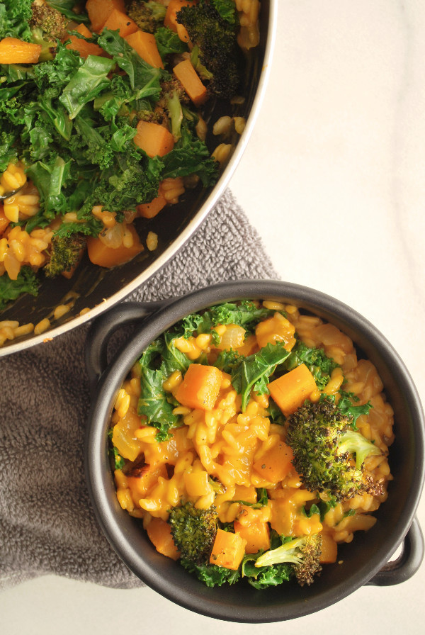 Vegetarian Fall Dinner Recipes  Easy Fall Ve able Risotto Fooduzzi